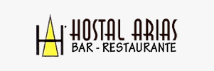 Logotipo Hostal Arias